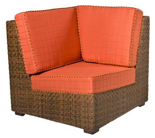 Domino Wicker Corner Lounge