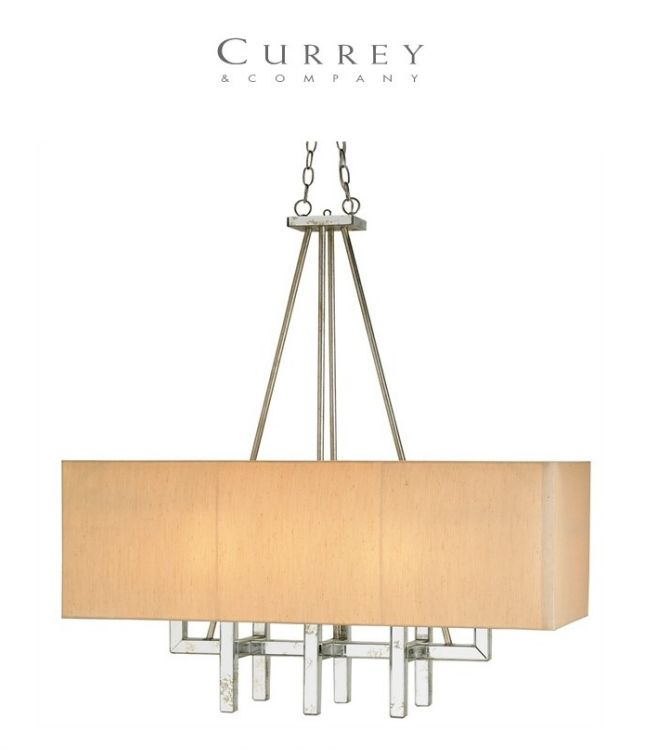 Currey & Company Eclipse Rectangular Chandelier