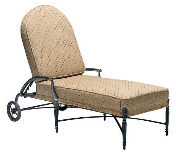 Landgrave Elise Cast Aluminum Adjustable Chaise Lounge