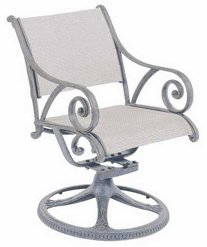 Landgrave Excelsior Cat Aluminum Swivel Rocker