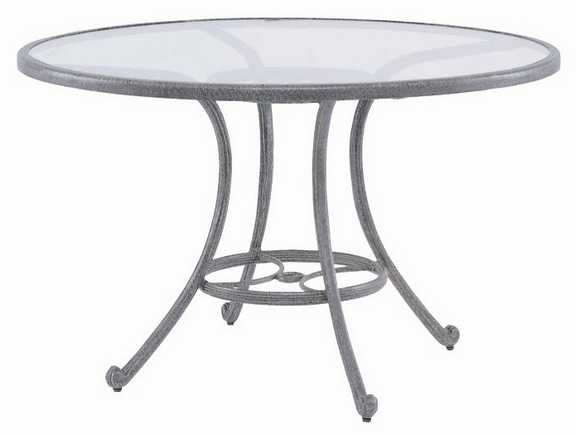 Landgrave Excelsior Cast Aluminum 48� Round Dining Table