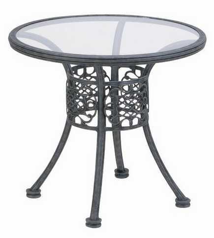 Landgrave Florence Cast Aluminum 31� Round Bistro Table
