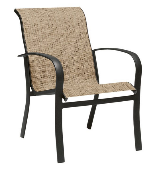 Fremont Aluminum Sling Dining Arm Chair