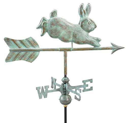Good Directions Rabbit Weathervane