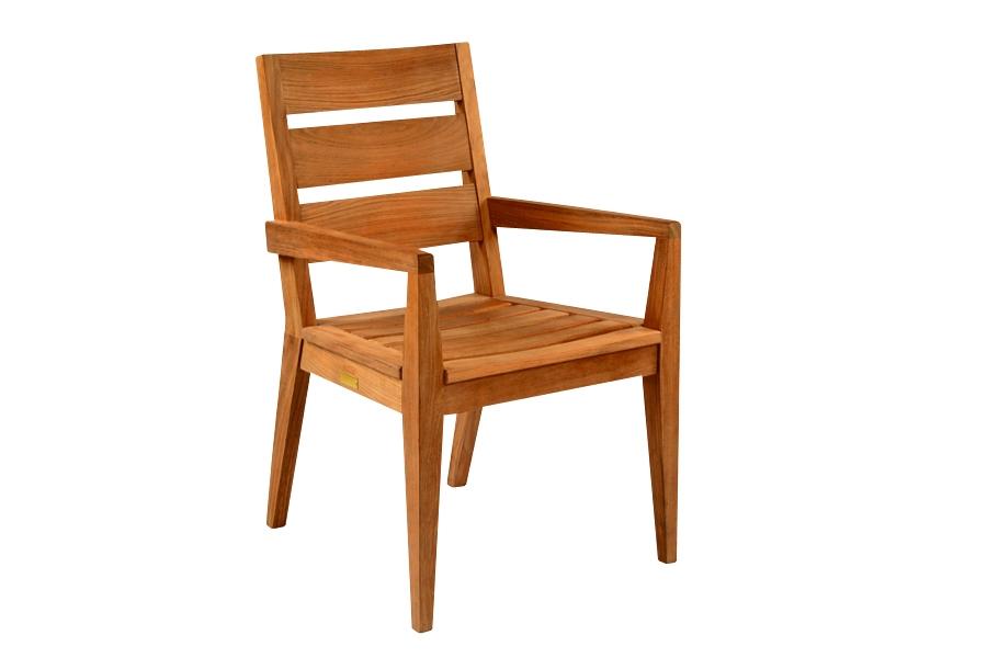 Kingsley-Bate Algarve Teak Dining Arm Chair