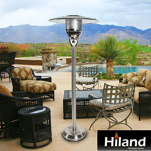 Natural Gas 202 Stainless Steel Patio Heater