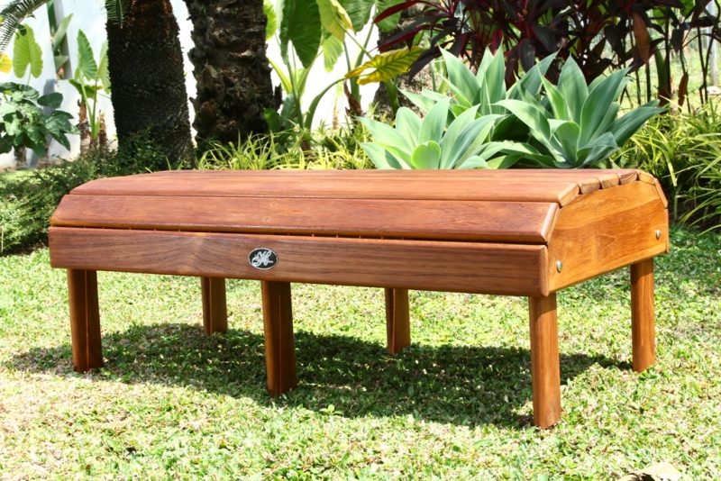 Exclusive! Hyre's Teak Coffee Table