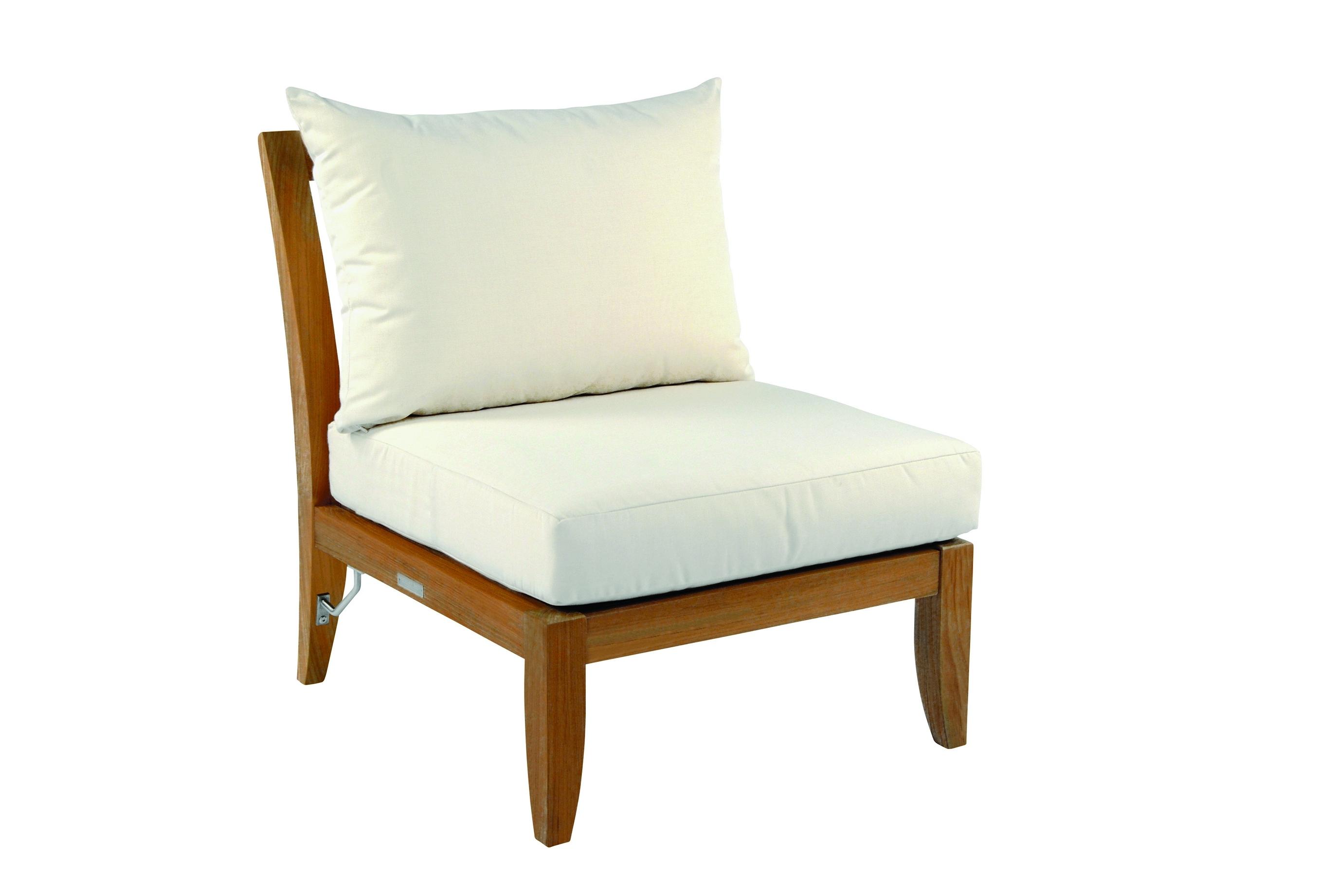 Kingsley-Bate Ipanema Teak Sectional-Armless Chair