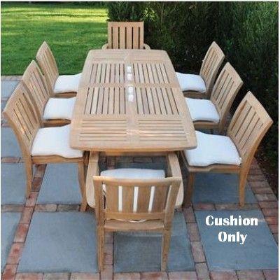 Kingsley-Bate Ipanema Dining Side and Armchair Seat Cushion