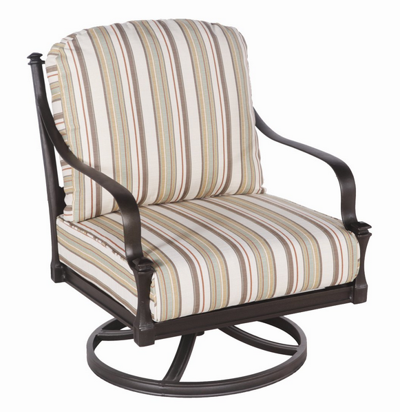 Isla Aluminum Rocking Lounge Chair