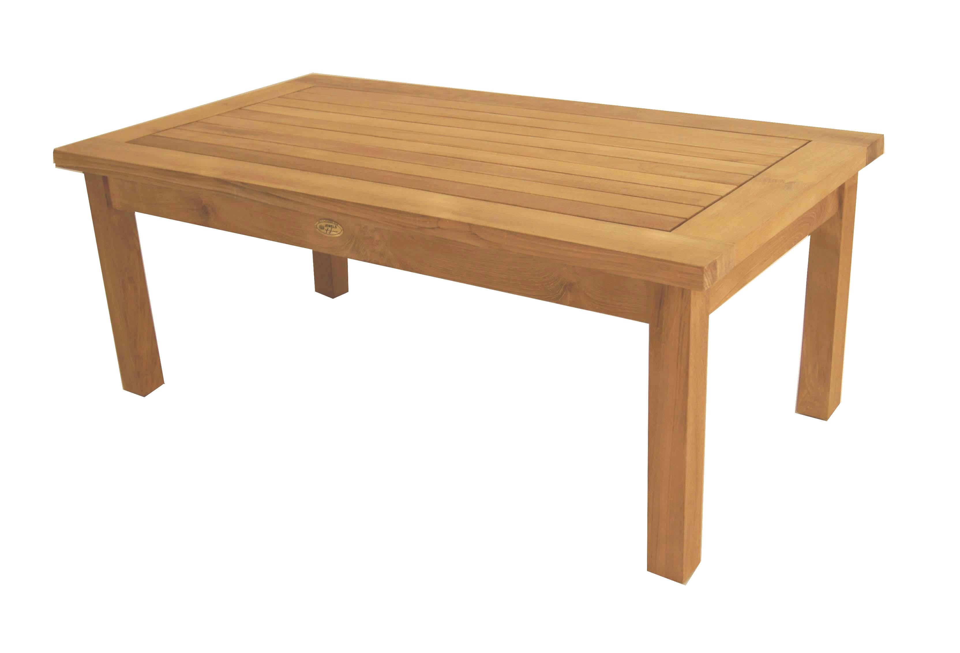 Teak English Garden Coffee Table