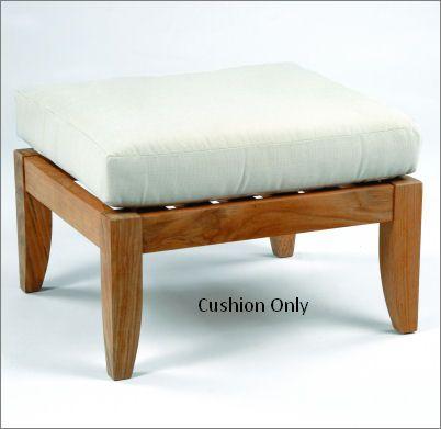 Kingsley-Bate Ipanema Deep Seating Ottoman Cushion