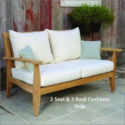 Kingsley-Bate Ipanema Settee Seat & Back Cushion