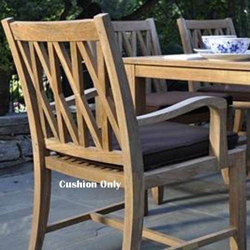 Kingsley-Bate Somerset Dining Armchair Seat Cushion