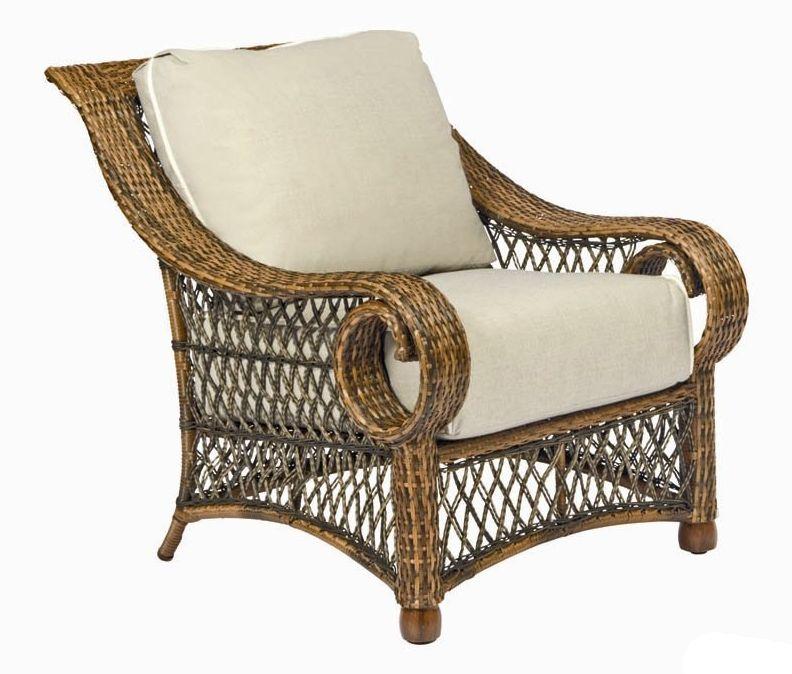 Belmar Wicker Stationary Lounge Chair