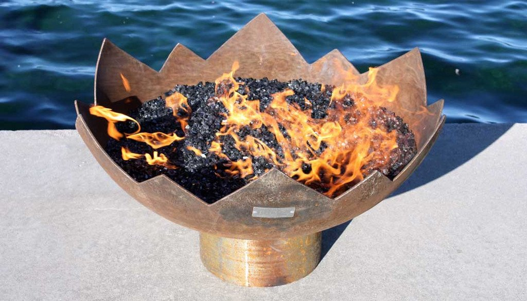 Great Flaming Lotus 37� Firebowl