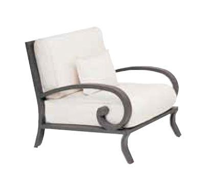 Landgrave Centurion Cast Aluminum Lounge Chair