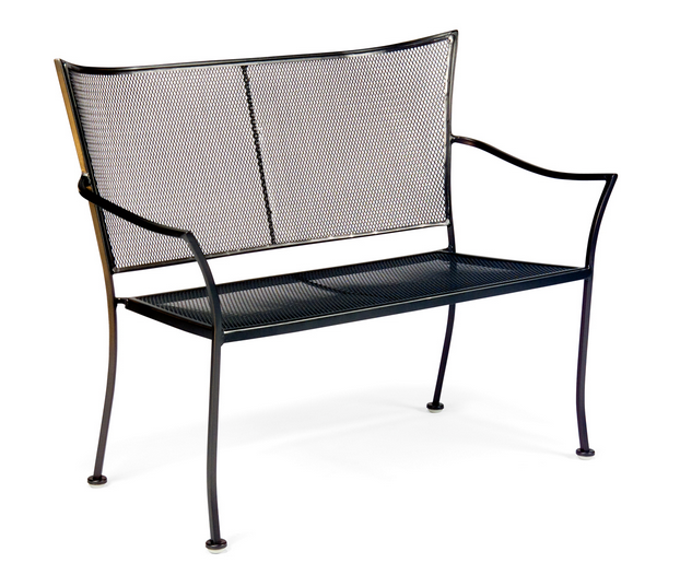 Amelie Wrought Iron Bench