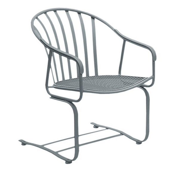 Valencia Wrought Iron Spring Base Chair