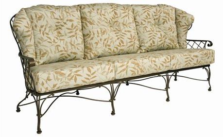 Brayden Wrought Iron Sofa