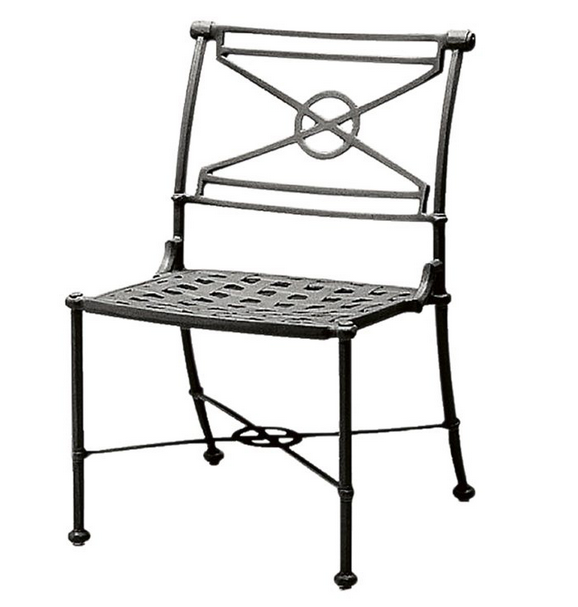 Delphi Aluminum Dining Side Chair
