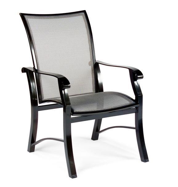 Cortland Flex Aluminum Dining Arm Chair