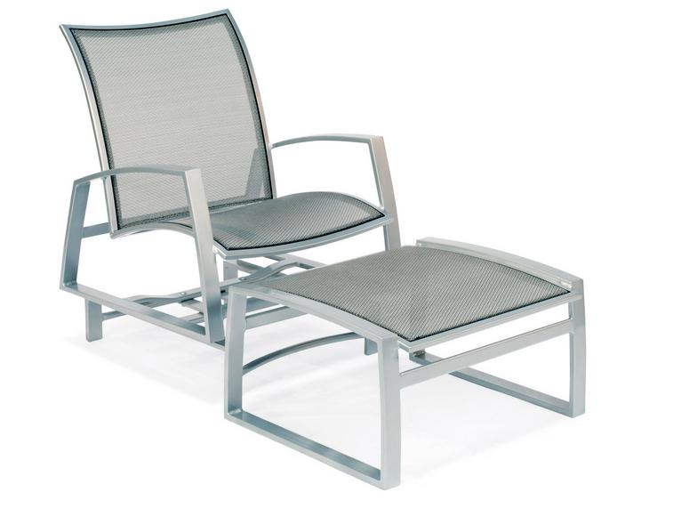 Wyatt Flex Aluminum Spring Lounge Chair