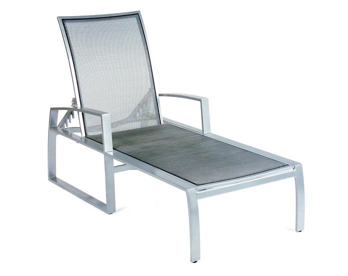 Wyatt Flex Aluminum Adjustable Chaise Lounge
