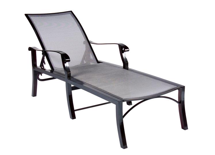 Cortland Flex Aluminum Adjustable Chaise Lounge