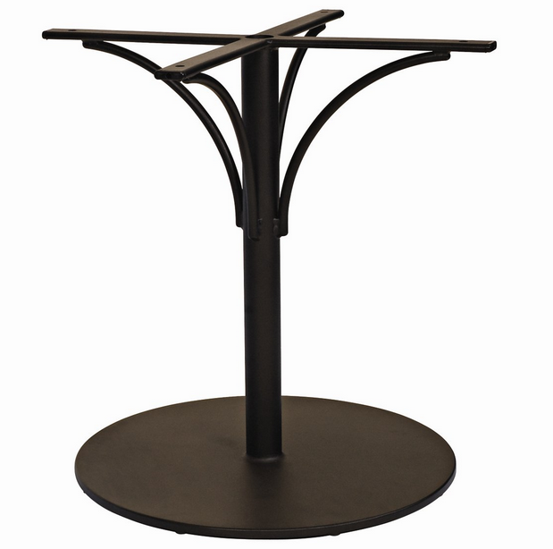 Aluminum Pedestal Bistro Table Base