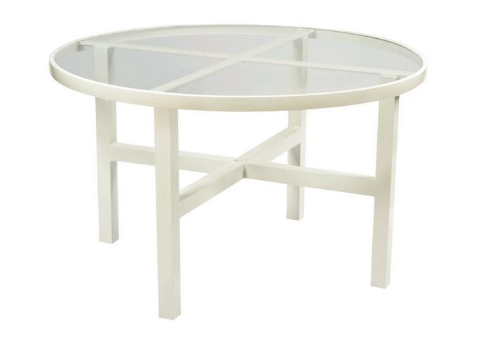 Aluminum 48� Round Dining Table