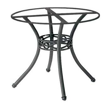 Motif Aluminum Cast Table Base
