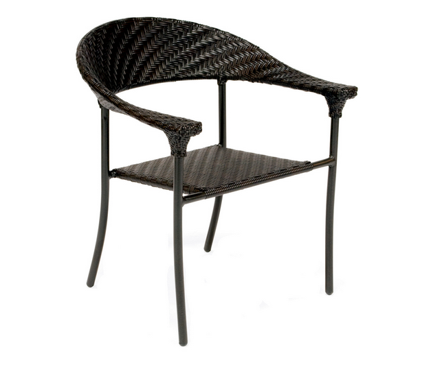 Wicker Barlow Dining Arm Chair – Stackable
