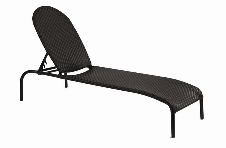 Wicker Barlow Adjustable Chaise Lounge – Stackable
