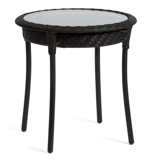 Wicker Barlow 22� Round End Table