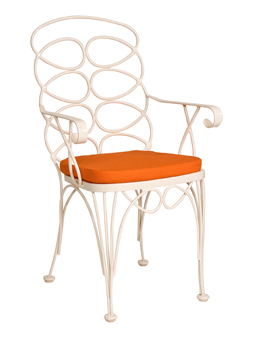 Gelati Wrought Iron Dining Chair