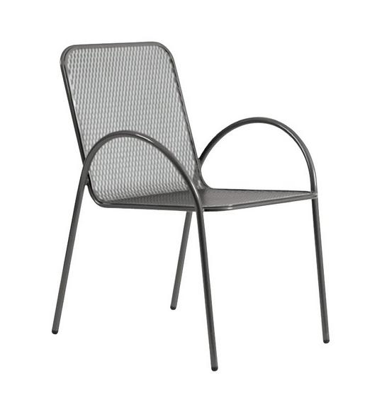Avalon Wrought Iron Bistro Arm Chair