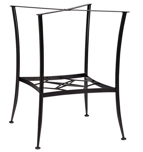 Wrought Iron Bar-Height Dining Table Base