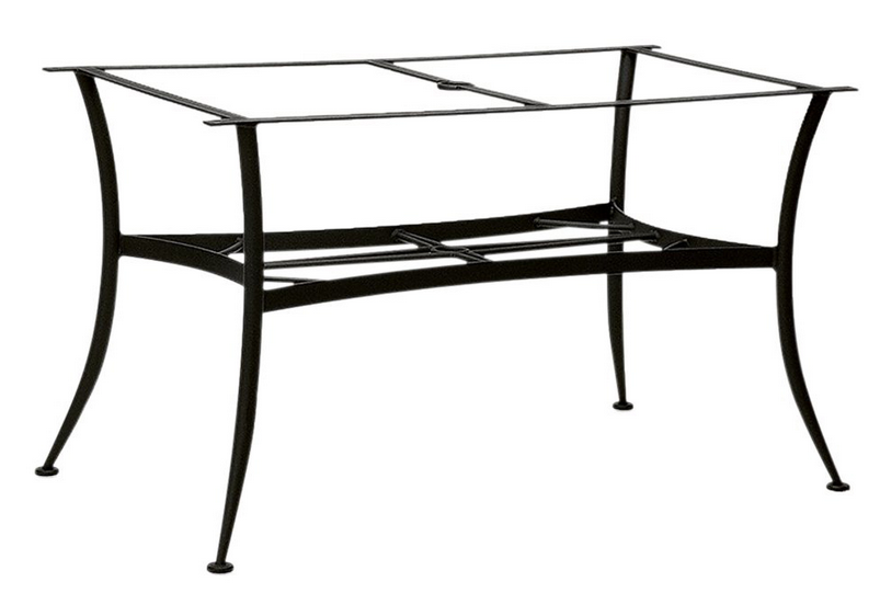 Wrought Iron Oval Dining Table Base