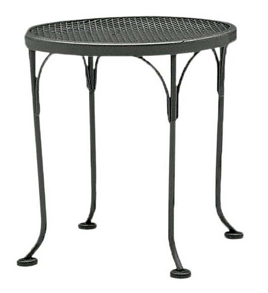 Wrought Iron 17′ Round End Table