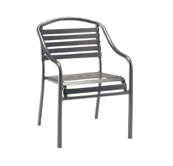 Baja Strap Aluminum Dining Chair – Stackable