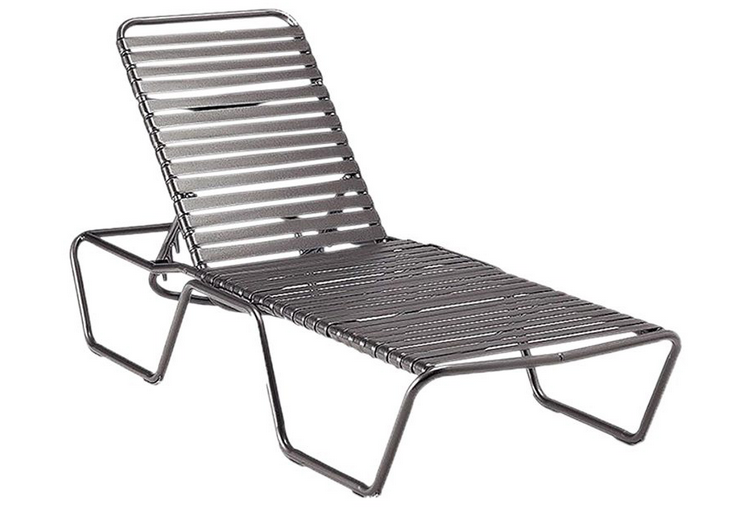 Baja Strap Aluminum Adjustable Chaise Lounge