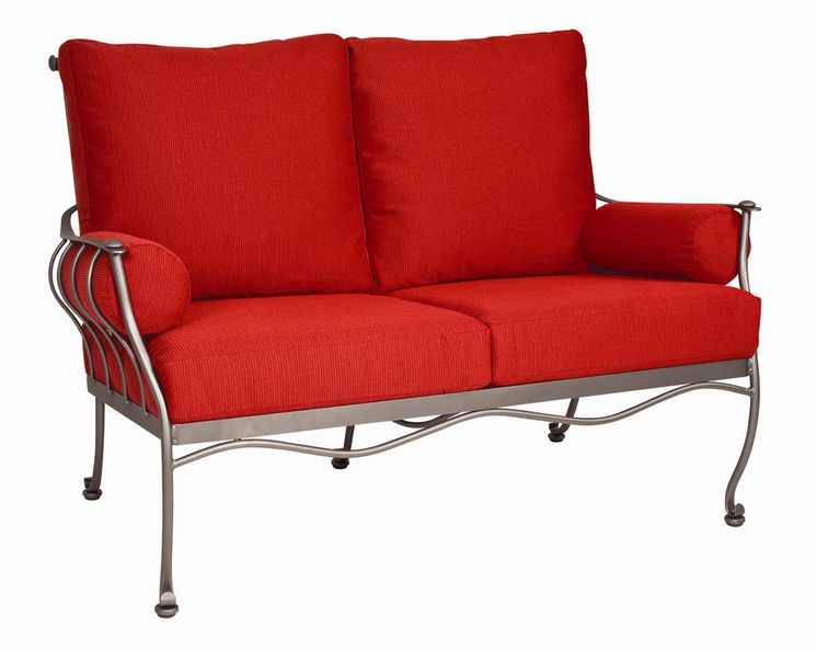 Maddox Wrought Iron Patio Loveseat
