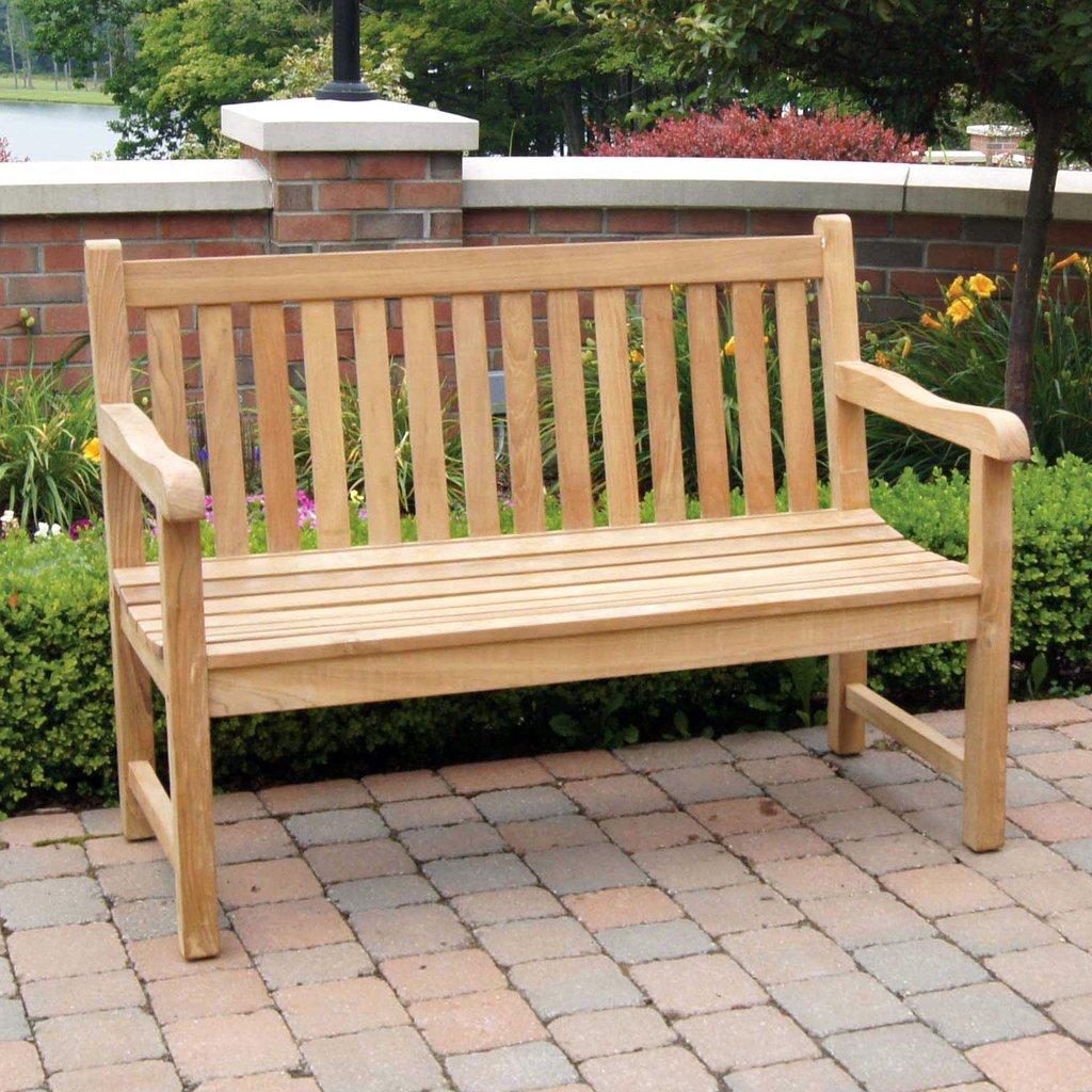 4′ English Garden Bench