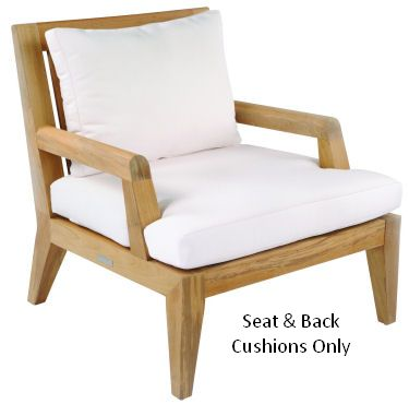 Kingsley-Bate Mendocino Lounge Chair Seat & Back Cushion