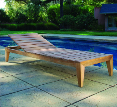 Kingsley-Bate Mendocino Chaise Lounge (a minimum order of 2 required)