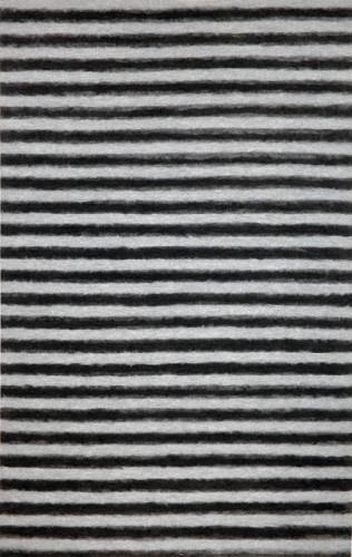 TransOcean Soleil II Soft Stripe Gray/Charcoal Rug
