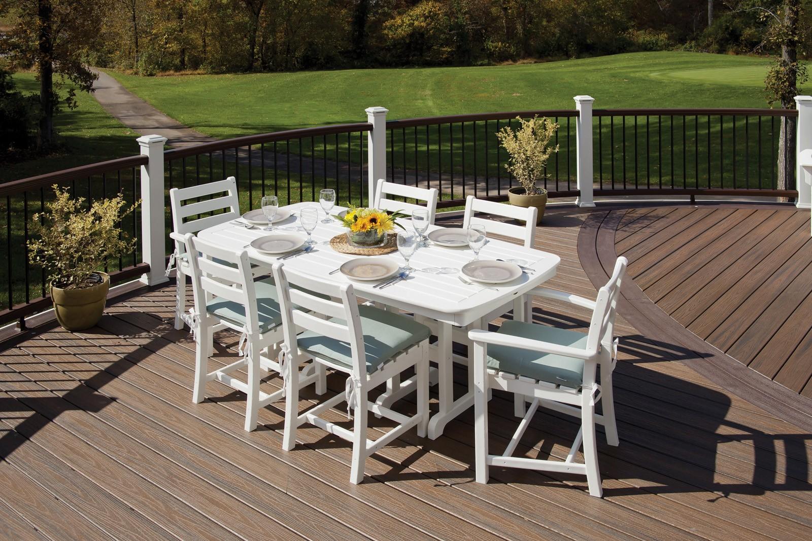 Trex� Outdoor Furniture� Monterey Bay 7 Piece Dining Ensemble