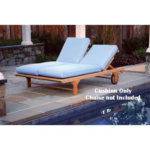 Kingsley-Bate Nantucket Double Chaise Lounge Cushions (set of 2)