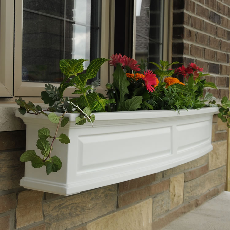 Nantucket 5FT Window Box White, Black, Clay, Red, Green